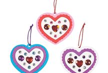 Valentine's Day Party Crafts, Games & Food -- toddlers