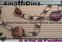 4inofficina / Laboratorio creativo di arti figurative, decoupage, bijoux, pannolenci... work in progress...