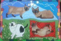 Lorranna Pedroso Pinturas / Pinturas  de animais da artista Lorranna Pedroso