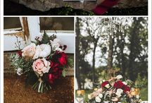 Red,Burgundy,Marsala and Wine Wedding Ideas