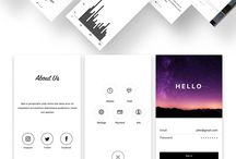 OLA-application design inspiration