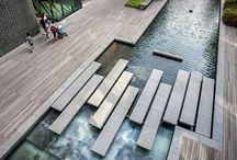 Landscape, garden, urban architecture