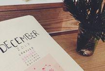 Bullet journal / Les pages de mon bullet journal