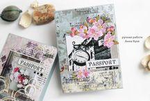 Обложки / для паспорта, свидетельста