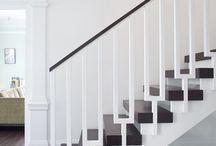 home: stairs / by Caroline Cornatzer