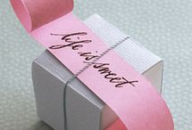Wrap it up! / Gift wrapping & packaging design ideas