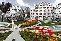 "Conceptual Architectural Project - ""IRIS Center "" 30.10.2013 / Conceptual Architectural Project - ""IRIS Center "" - Designer -Dimitri Detchev"