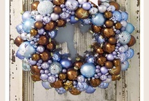 Holiday Wreath Collection / Wreaths are a great way to dress up any door or mantel.