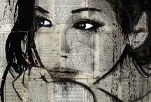 Human Faces Art