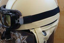 Винтажные шлемы