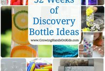 Discovery Bottles ideas