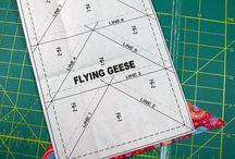 Paper piecing tutorials