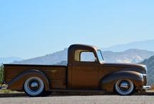 Old School Trucks & Cars