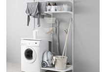 Laundry Shelving / Organisation