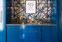 Bars Designed For Home Entertainment / Noir Blanc Interiors Inspiration For Custom Home Bars