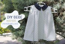 sukienki dla dziewczynek / wykroje, szycie