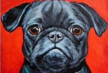 Pug Life on ArtFire / Pug Jewelry, Accessories and Decor found on ArtFire.