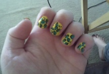 My attempt at nails..