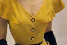 Vintage Lady / 50s elegance and design inspiration