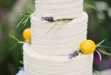 Lemon and Lavender Wedding