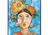 Laurel Burch Cards