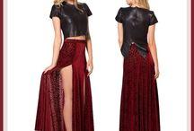 Retro Skirts Shorts And Pants / Fashion Wear