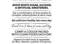 Clean eating plan / by Rhiannon Duffy