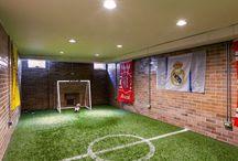 pokój piłkarzyków