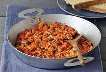 Greek cuisine! Our favourite!