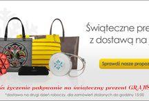 Wymarzona torebka - idealny prezent na Święta  / Wybierzcie na www.torebki.pl/group/prezenty-w-24h. Przesyłkę dostaniecie jutro  Wszystkie torebki wysyłamy GRATIS! Na życzenie pakowanie na prezent również GRATIS!
