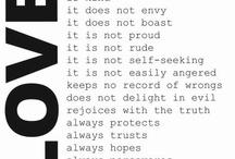 words / by Jenna VanDyk