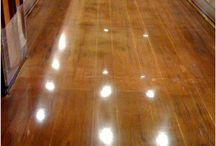 Flooring ideas / by Amy Ferrara