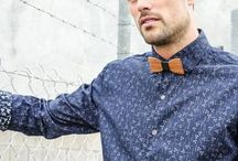 Men's Fashion Accessories / Upcycled glass and wooden accessories and men's fashion - made in Noosa, Australia from organic and natural materials.