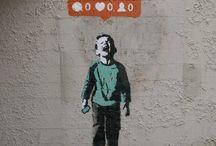 På veggen