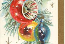 Christmas vintage cards