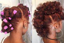 Natural hair slay