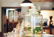Lemonade decanters