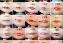 custom blythe lips
