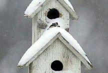 bird houses / by Jeannette Ferus