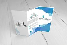 12 TriFold Brochure Mock-Ups