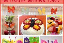 Butterfly birthday party / by Brooke Mavretich