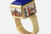 Micromosaic decorated Jewelry
