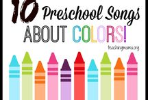 colours lesson plan
