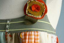 recycled clothing / by Karen Garnett