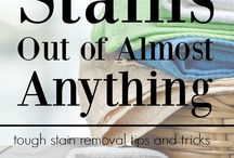 cleaning tough stains
