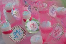 Lilly Pulitzer Inspired Party / Lilly Pulitzer Inspired 1st Birthday Party