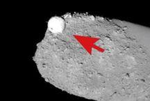 Misterioso oggetto fotografato sull'Asteroide Itokawa potrebbe essere una Sonda Aliena!