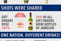 Wine, Beer and Spirits Infographics / Wine, Beer and Spirits Infographics that have us drooling.  / by VinePair