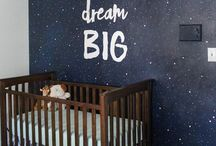 Nursery school wall murals