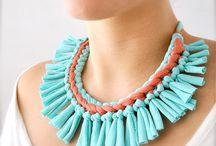 Fabric jewelry / by joella ramsey